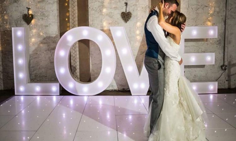 LED Love Letters Marbella