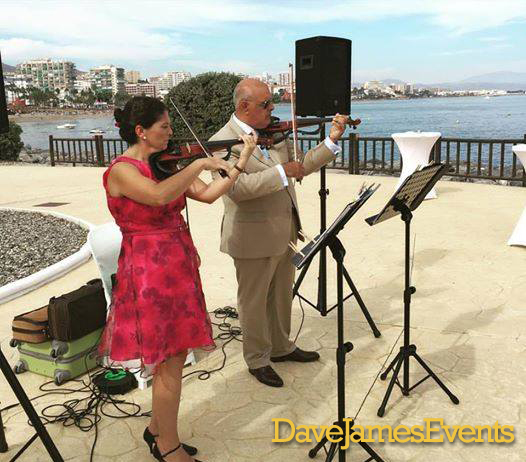 Electric Violin Marbella