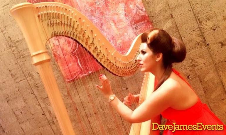 Costa Del Sol Harpist